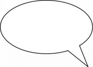 balão de fala