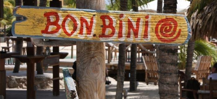 O que será que significa Bon Bini?
