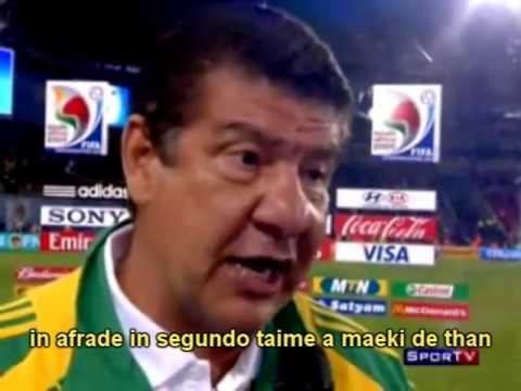Joel Santana, a expressão máxima do que é falar inglês com sotaque brasileoro